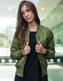 Ladies` Nylon Bomber Jacket